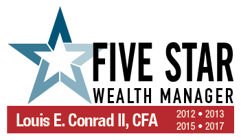 "Louis E. Conrad, II, President, COMPASS Wealth Management, LLC, awarded ""FIVE STAR Wealth Manager"" Award"